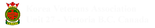 Korea Veterans Association Unit 27 Victoria, British Columbia